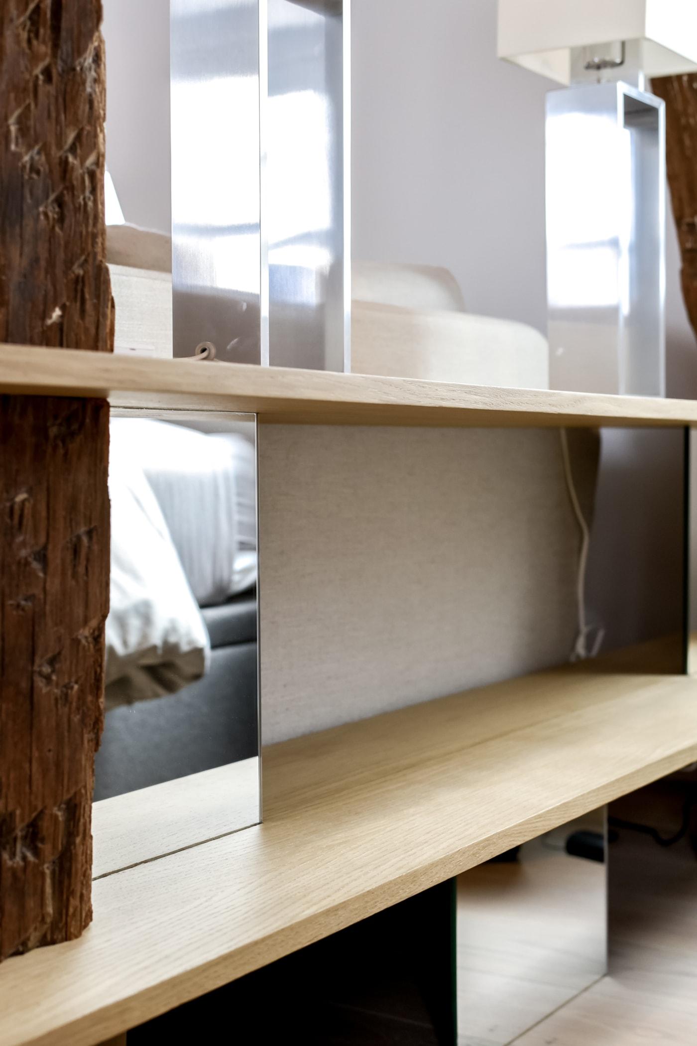 Travaux de rénovation et maitrise d'œuvre d'un appartement parisien sous les toits 13