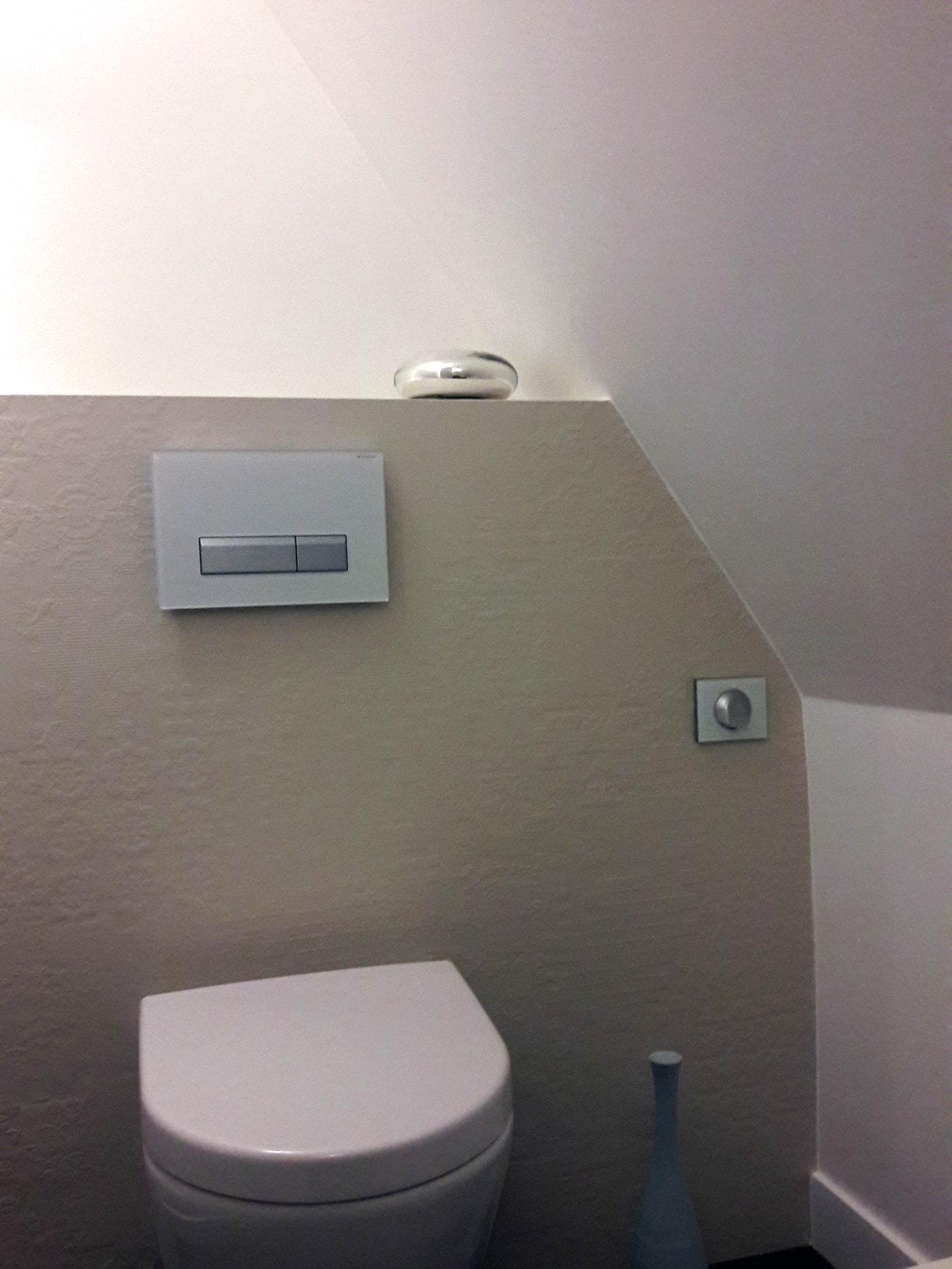 Coin WC au bas de la cage d'escalier 2