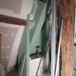 Montage des cloisons et murs en placo 1