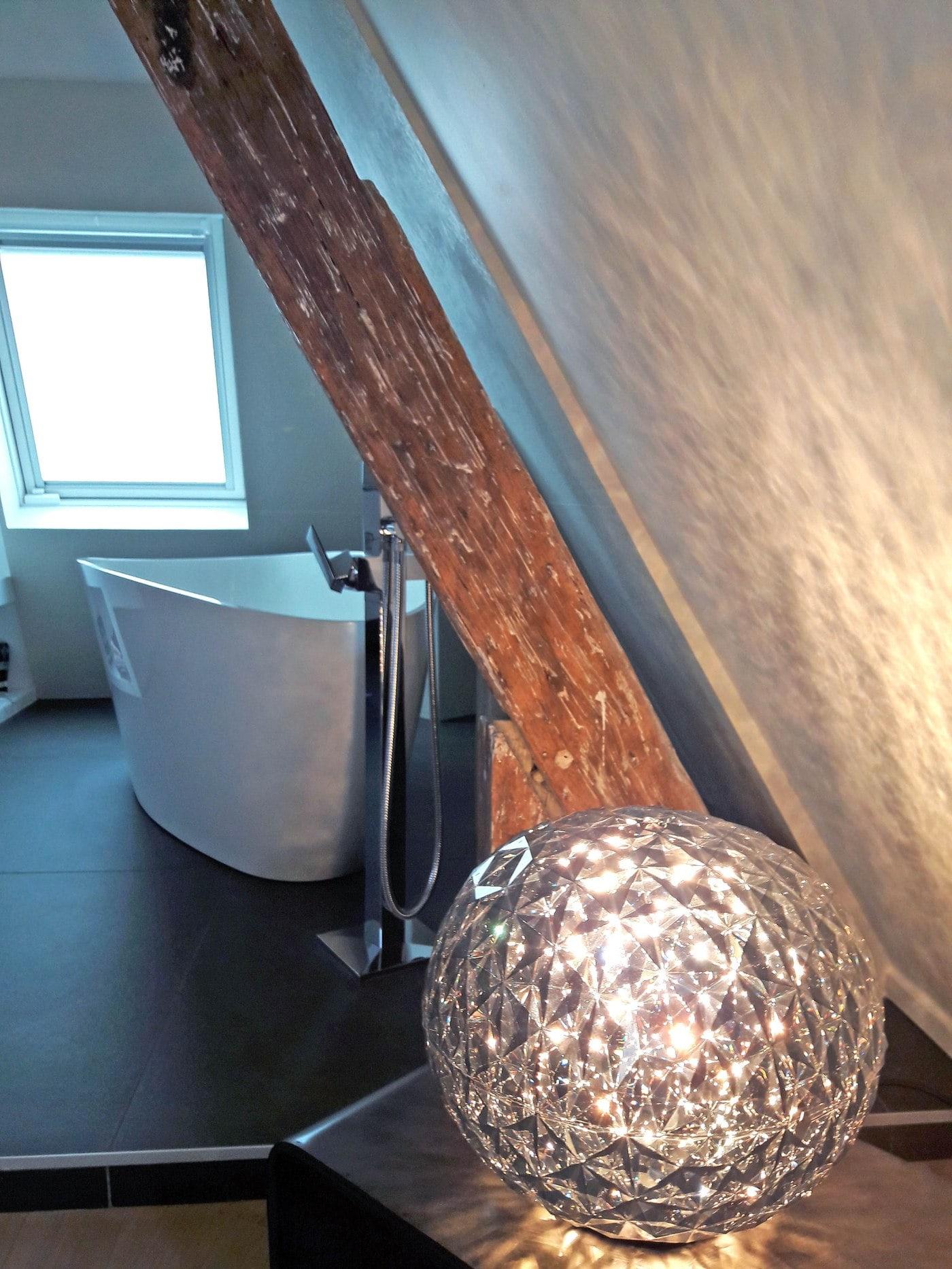 Travaux de rénovation et maitrise d'œuvre d'un appartement parisien sous les toits 20