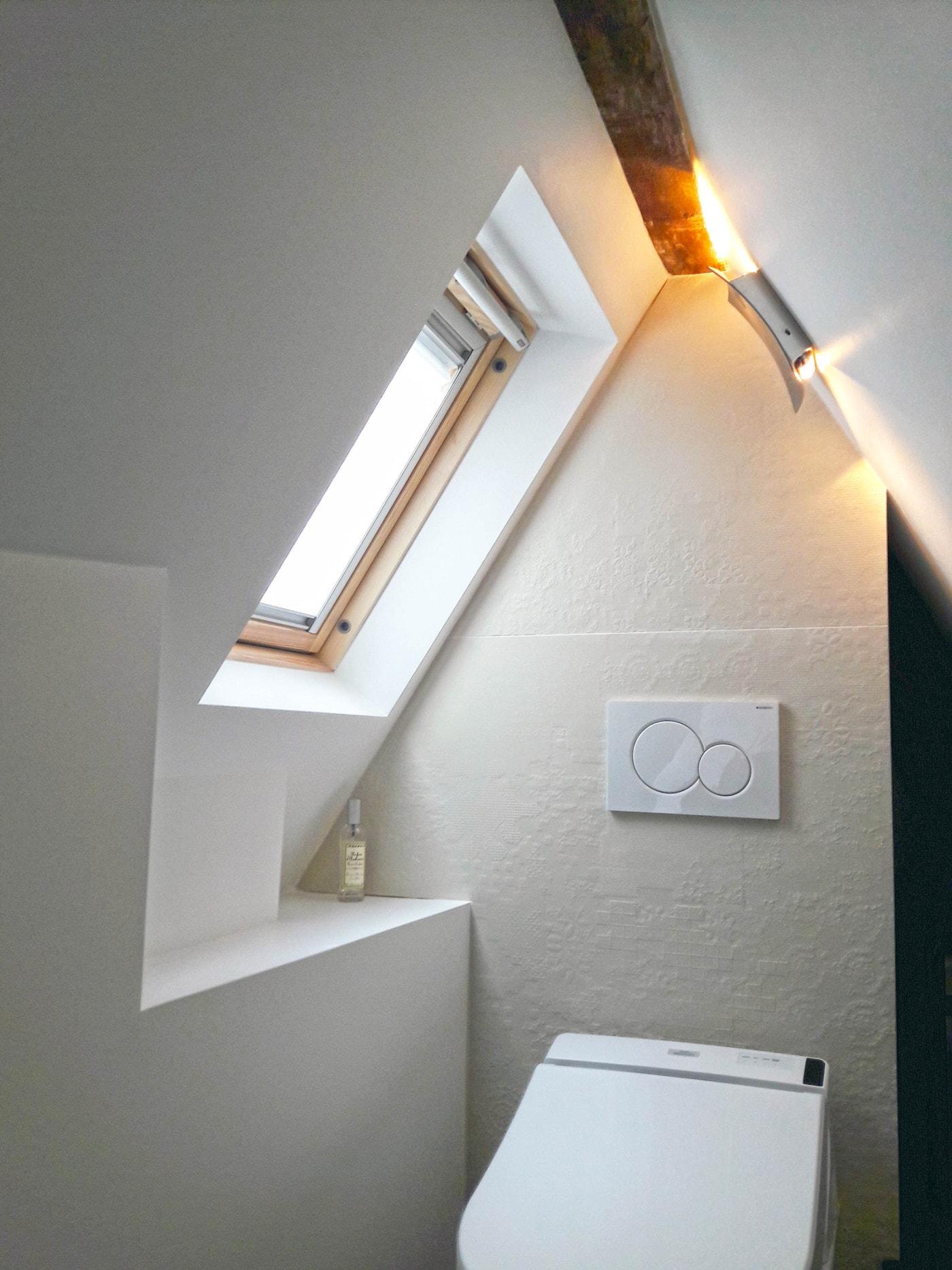 Travaux de rénovation et maitrise d'œuvre d'un appartement parisien sous les toits 22