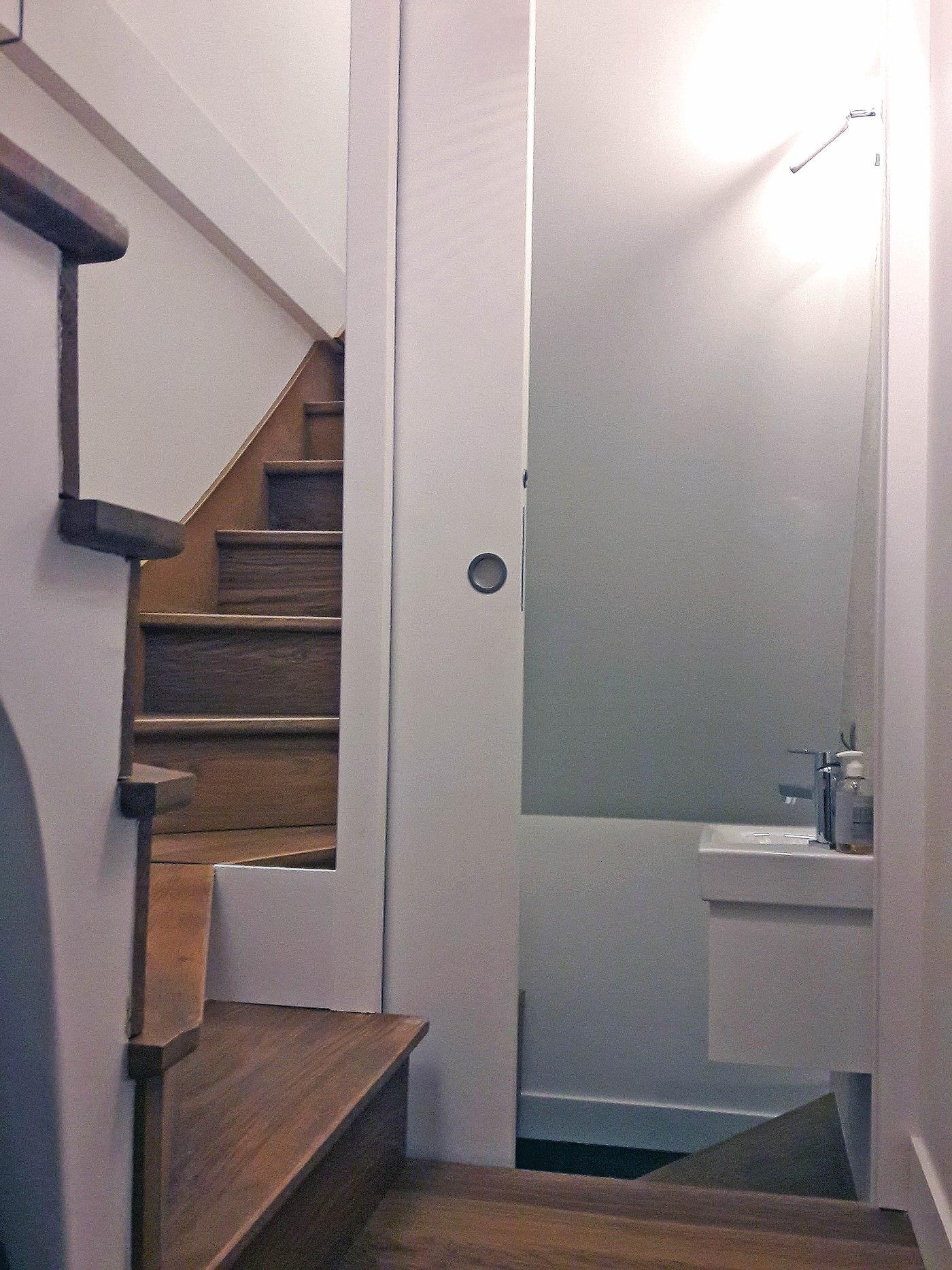 Entrée - Cage d'escalier Après travaux de rénovation