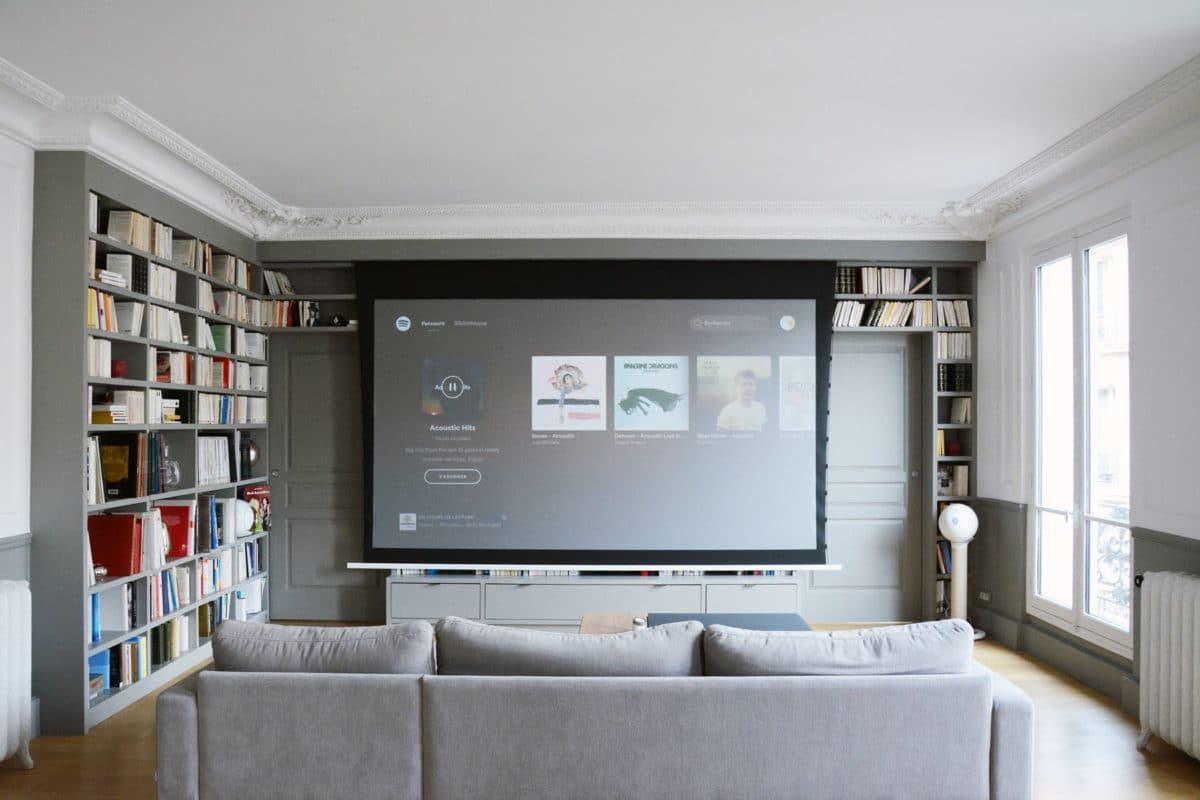 Salon - vidéo