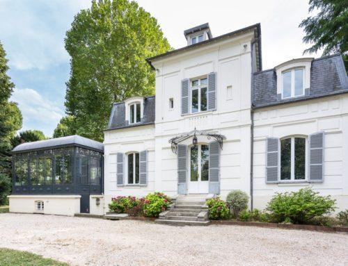 Maison en bord de Seine