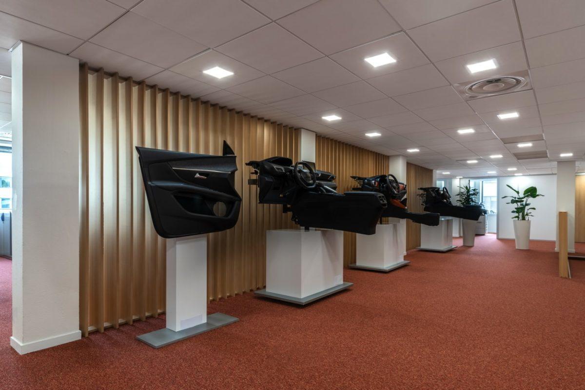 Aménagement de bureaux pour un équipementier automobile 2