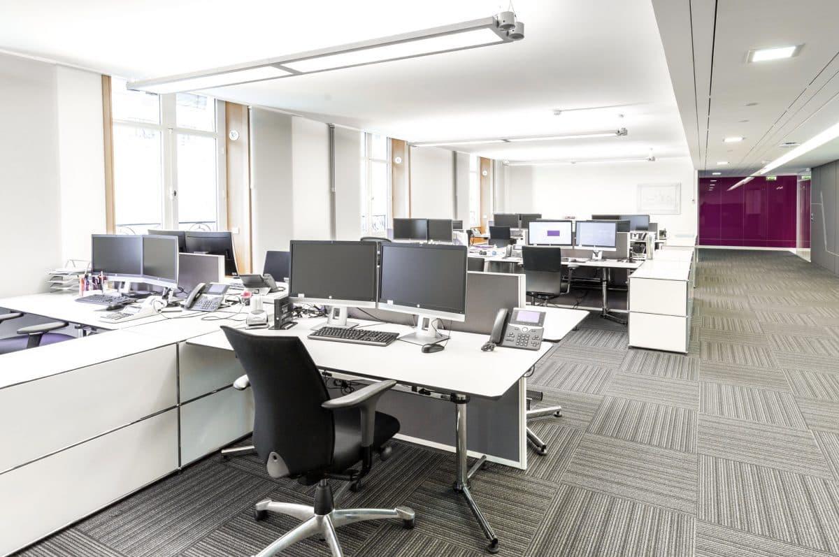 Rénovation de bureaux en région parisienne