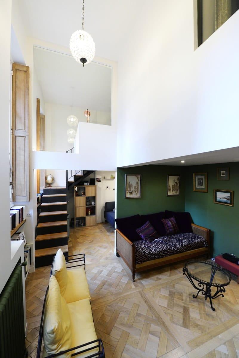 Rénovation d'un appartement haussmanien avec création de mezzanine 4