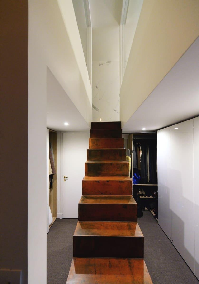 Rénovation d'un appartement haussmanien avec création de mezzanine 10