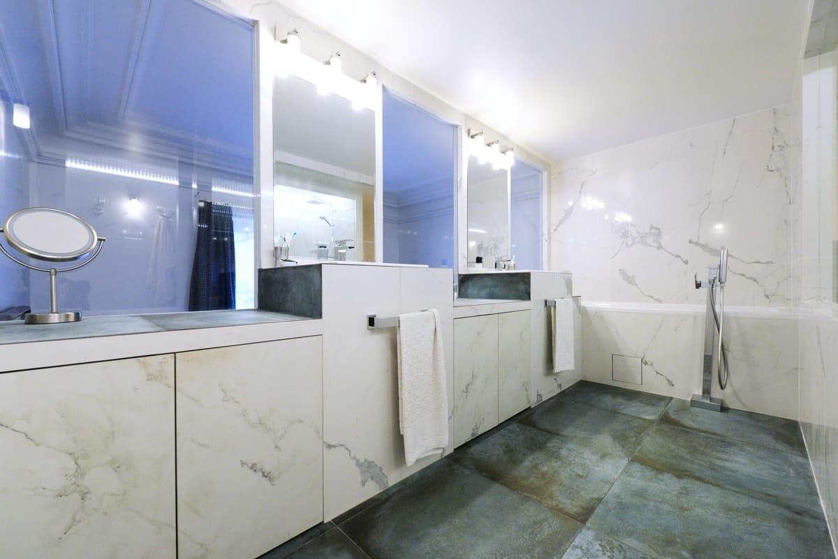 Rénovation d'un appartement haussmanien avec création de mezzanine 11