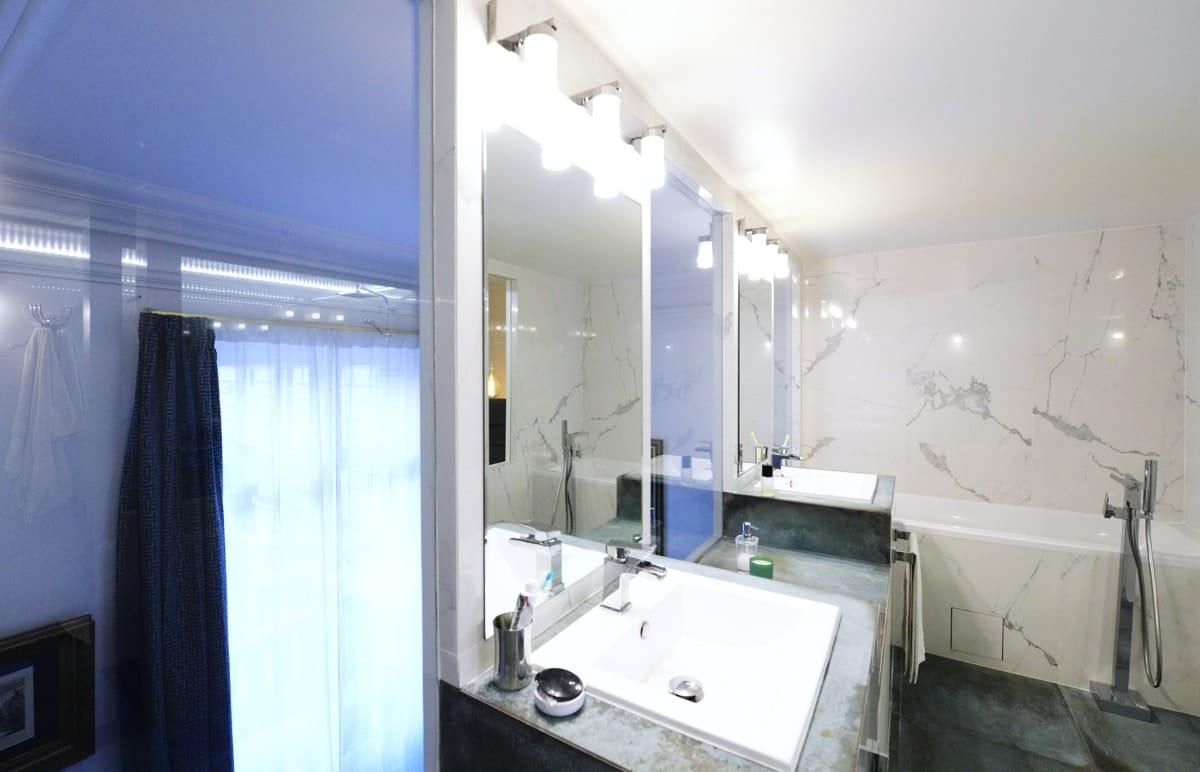 Rénovation d'un appartement haussmanien avec création de mezzanine 12