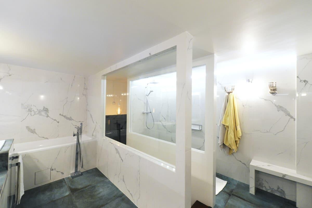 Rénovation d'un appartement haussmanien avec création de mezzanine 14