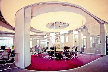 solutions acoustiques pour les bureaux