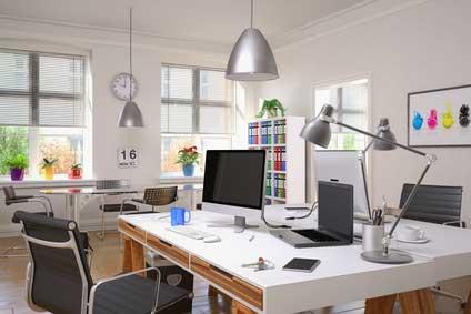 décoration du lieu de travail