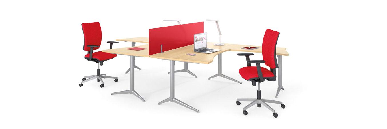Espaces de travail modulables et bureaux mobiles