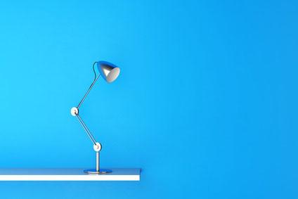 La luminosité d'un bureau de travail