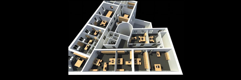 Projet d'aménagement de bureaux pour un laboratoire