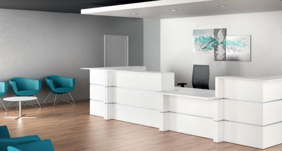 Quel mobilier de bureau pour l'espace d'accueil ?