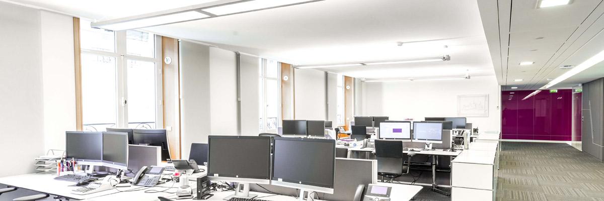 Bonne posture au bureau sur poste de travail