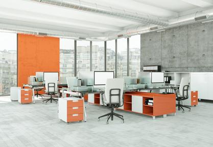 Des meubles de rangement qui participent à la décoration