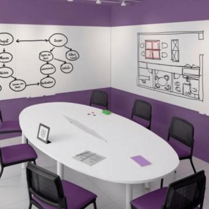Tableaux et chevalets pour salles de réunion