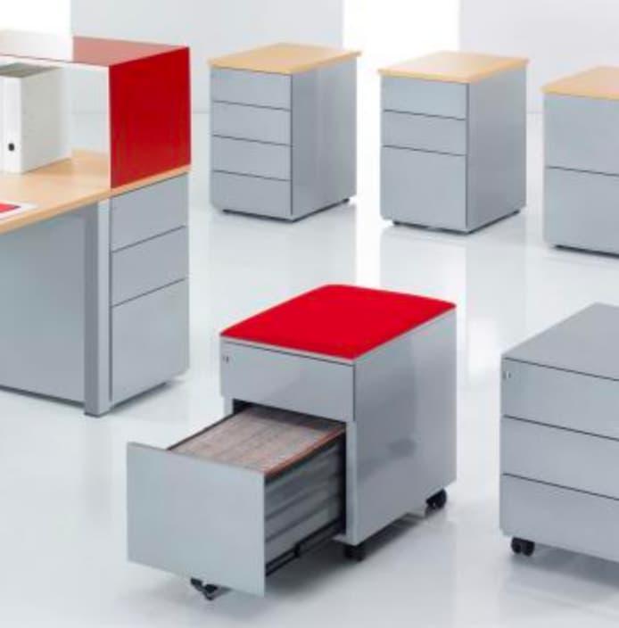 Caissons mobiles de bureaux professionnels