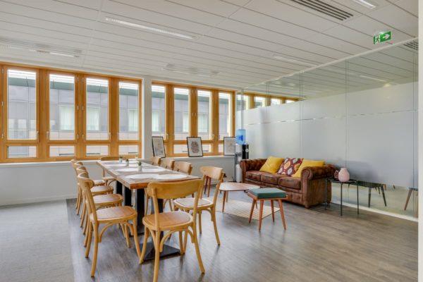 Création d'un espace détente pour des bureaux à Saint Denis