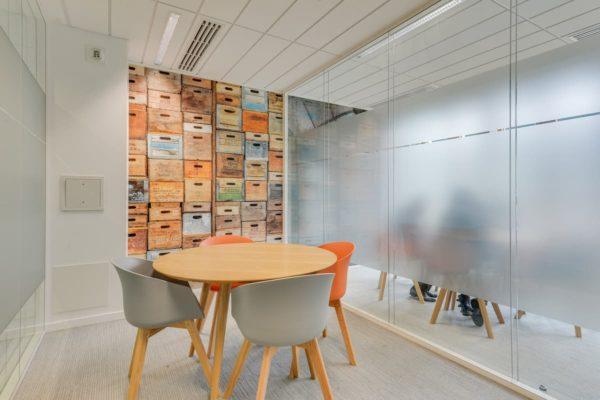 Aménagement d'une salle de réunion pour des bureaux à Saint dénis