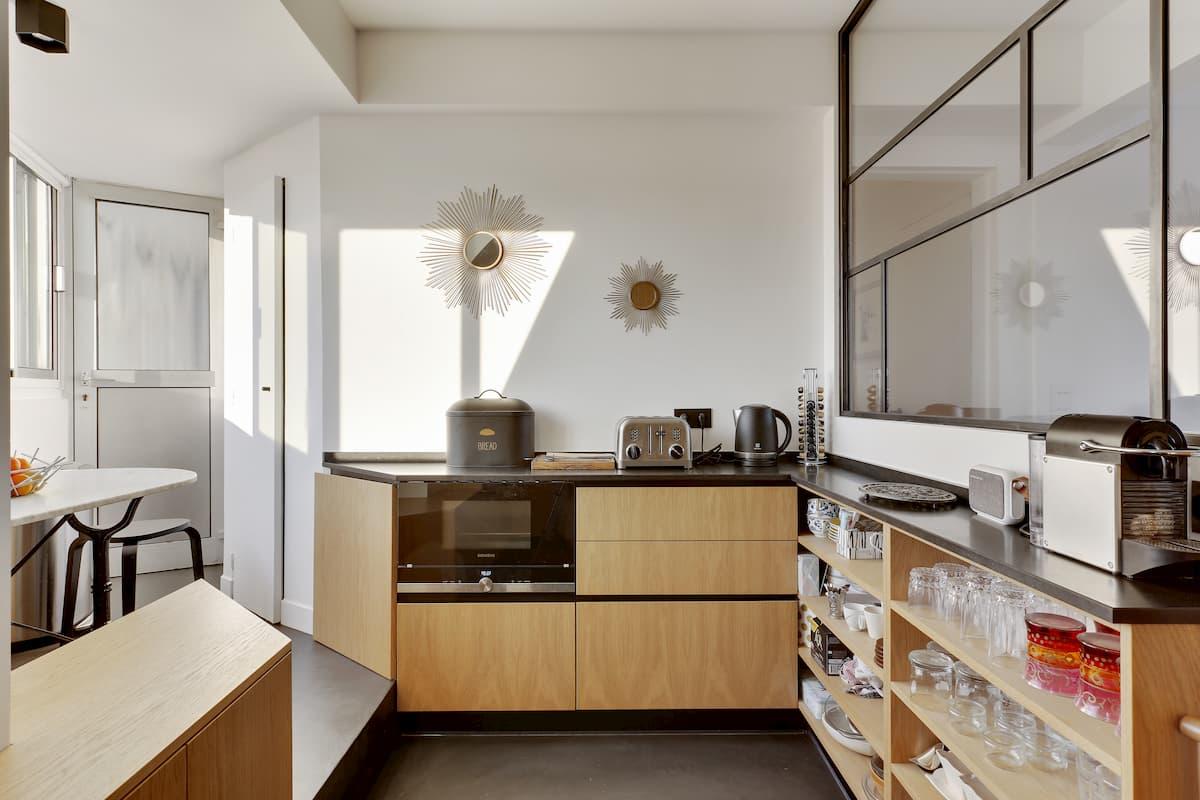 Rénovation d'appartement avec cuisine