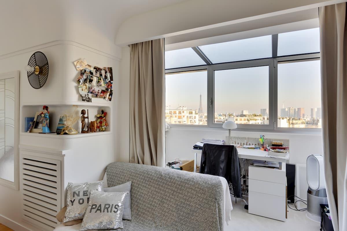 Rénovation de chambre avec vue