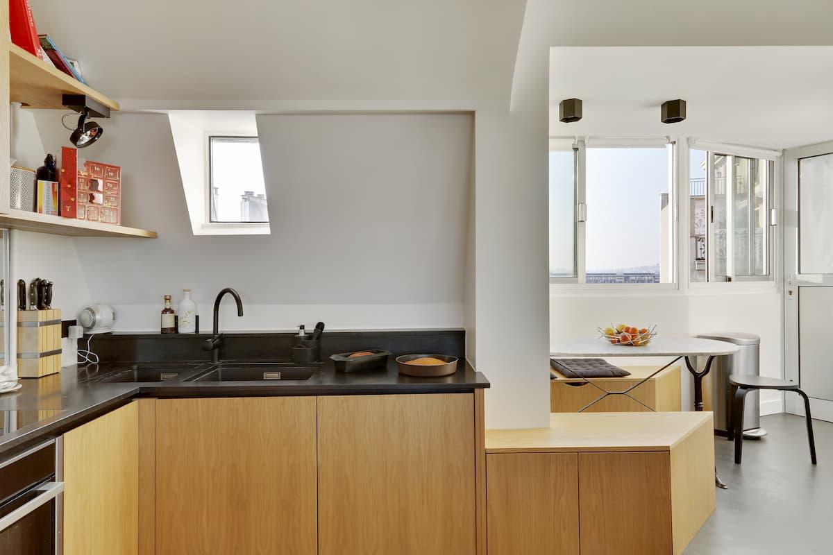 Rénovation de cuisine d'appartement