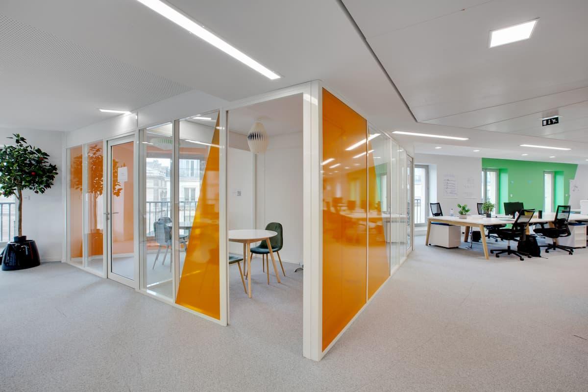 Aménagement de bureaux à Paris 16