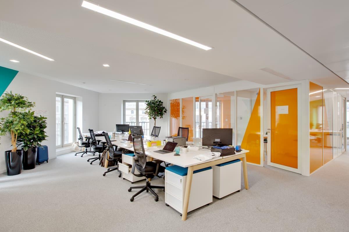 Aménagement de bureaux à Paris 8