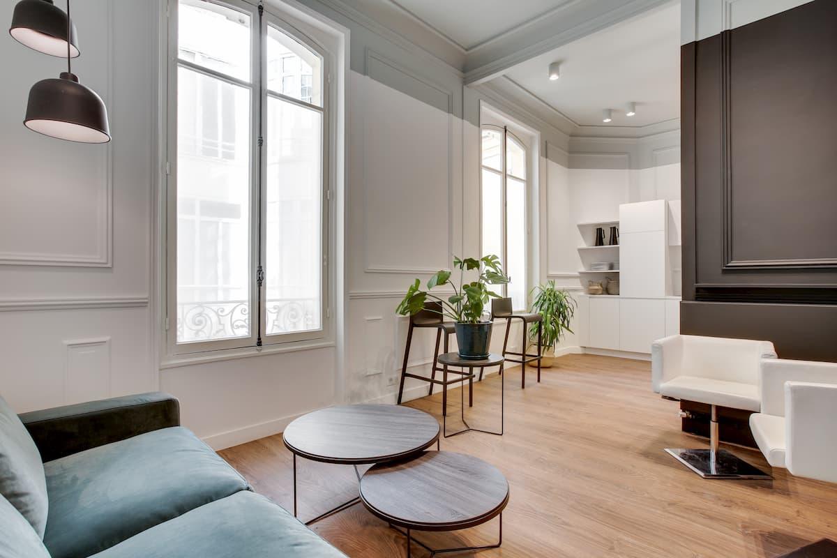 Espace accueil | Rénovation des bureaux pour un cabinet d'avocats