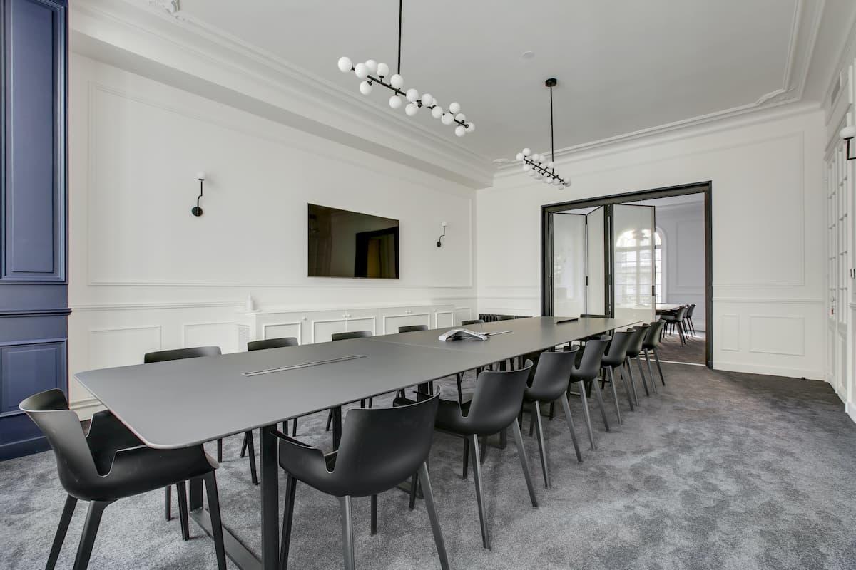Salle de réunion | Rénovation des bureaux pour un cabinet d'avocats