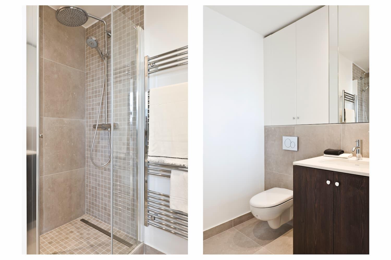 Salle de bain refaite