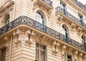 Rénovation d'un immeuble dans Paris