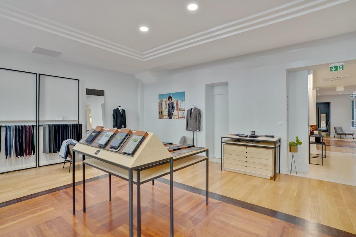 Aménagement de la boutique les Nouveaux Ateliers 06