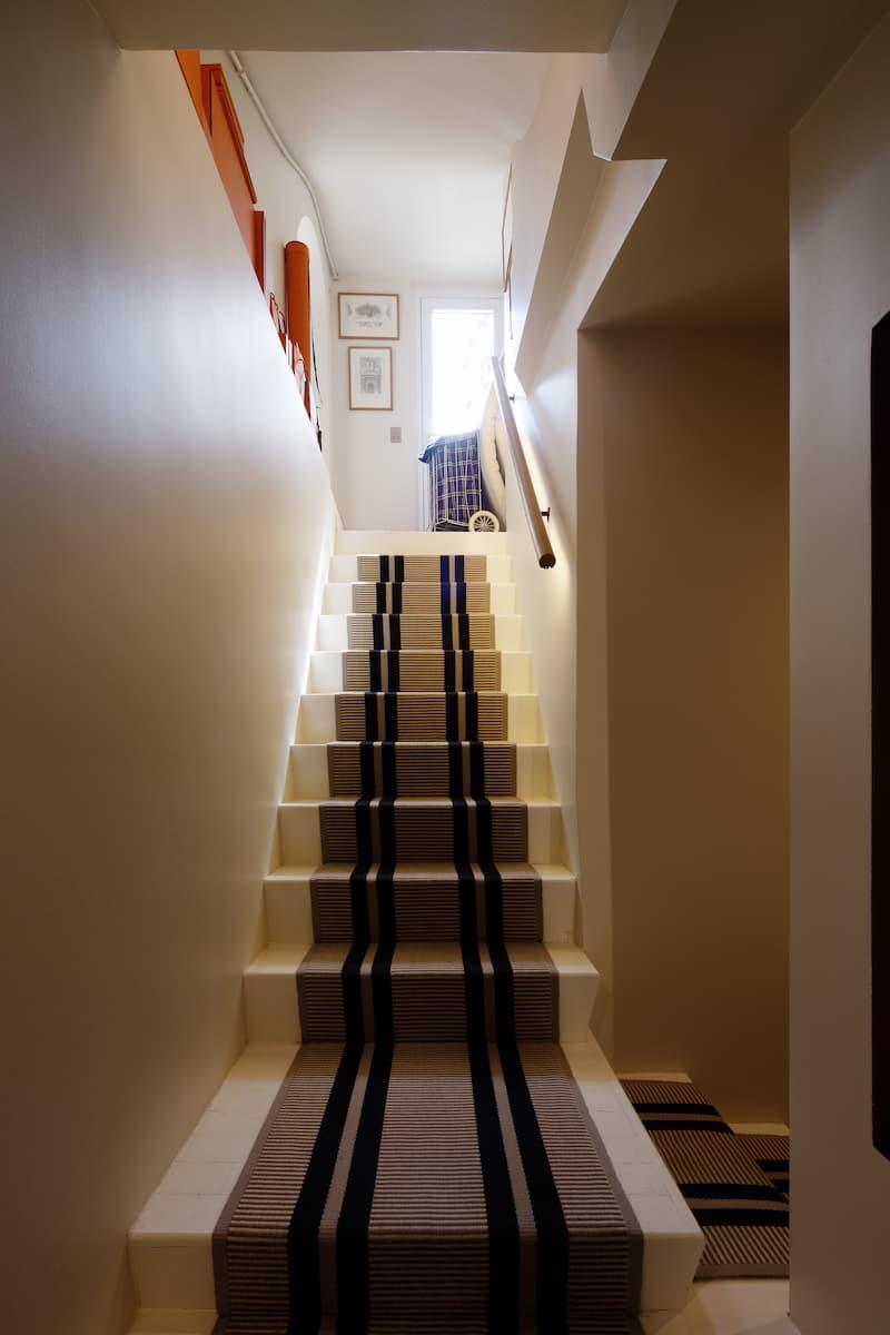 Réfection de l'escalier